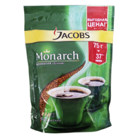 Кофе Jacobs Monarch м/у 75 гр